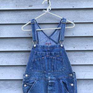 Denim overalls size 12 Kids XS Women's Size
